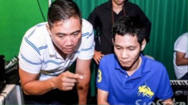 Nhạc sĩ Minh Vy và Hoài Sa hỗ trợ tích cực cho team Cẩm Ly.
