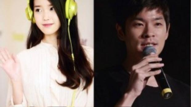 IU và bạn trai Chang Ki Ha.