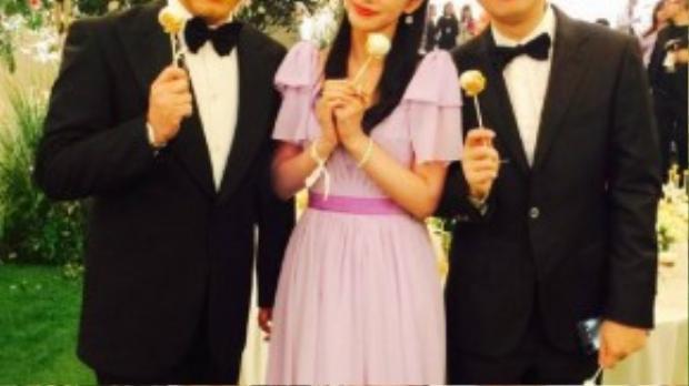 Lý Băng Băng chia sẻ cũng mong sớm có chồng khi chứng kiến hạnh phúc của Huỳnh Hiểu Minh.