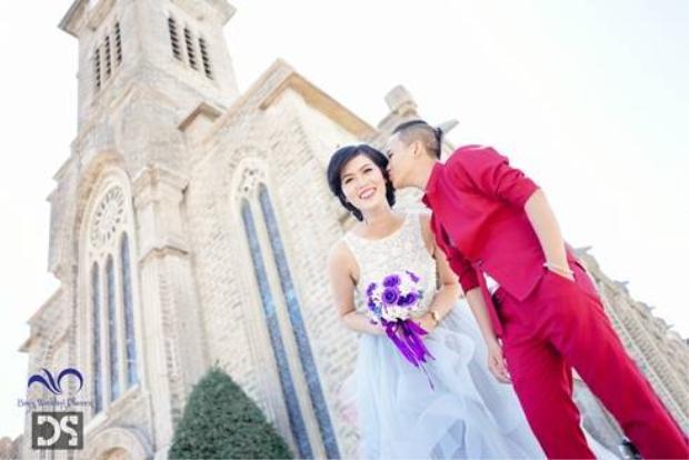Đôi đồng tính nữ Nha Trang đầu tiên làm đám cưới