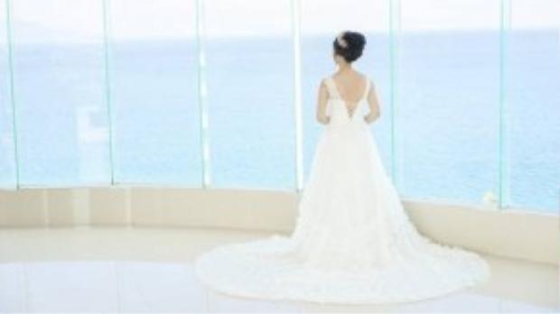 Bích Hà hồi hộp trước ngày làm cô dâu.