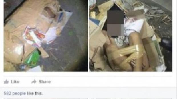 Đoạn chia sẻ cùng với những bức ảnh được chia sẻ khiến nhiều người dùng mạng hoang mang - (Ảnh chụp màn hình Fb N.T.H)