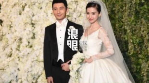 Đám cưới cổ tích của chân dài hạng B và ông hoàng màn ảnh Hoa ngữ Huỳnh Hiểu Minh.