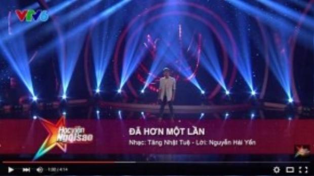 Thí sinh của chương trình Học viện ngôi sao 2015 đã sử dụng ca khúc trong đêm liveshow 1 khi ghi thông tin nhầm lẫn.