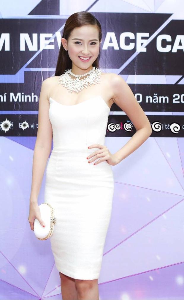 Hoa hậu ảnh Khánh Ngân đối lập phong cách với siêu mẫu Kỳ Hân