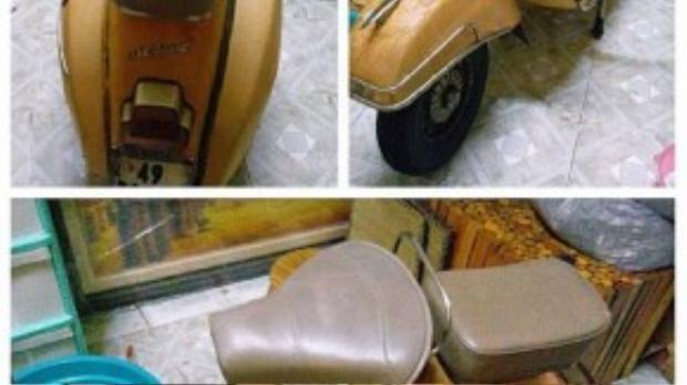 Vespa tuy rất hay hỏng vặt nhưng nếu có kinh nghiệm, việc sửa xe cũng rất dễ dàng.