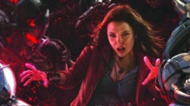 Sức mạnh khủng khiếp của Scarlet Witch từng được phô diễn trong Age of Ultron.