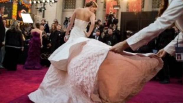 Khoảnh khắc đáng nhớ nhất trong sự nghiệp của Jennifer Lawrence.