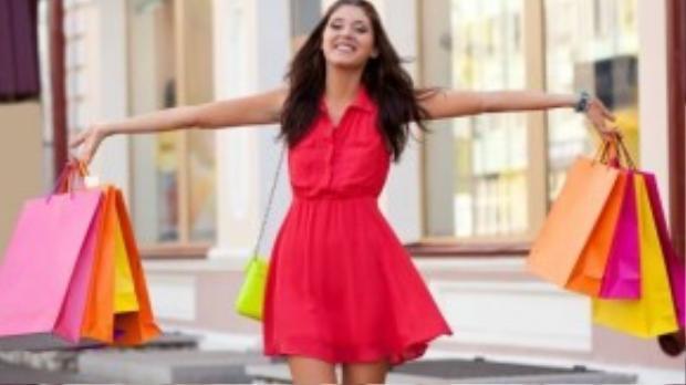 Đi bộ mua sắm giúp tiêu thụ bớt calories