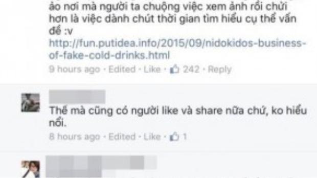 Nhiều người dùng mạng tinh ý đã nhận ra đây không phải là hình ảnh ở Việt Nam - (Ảnh chụp màn hình).