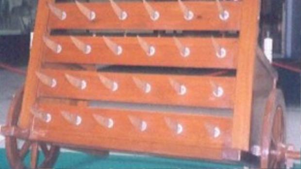 Bẫy đao được bố trí trong lăng mộ của một vị tướng Trung Quốc thời cổ đại.