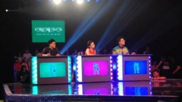 Cẩm Ly, John Huy Trần và Thanh Bạch là bộ ba giám khảo/