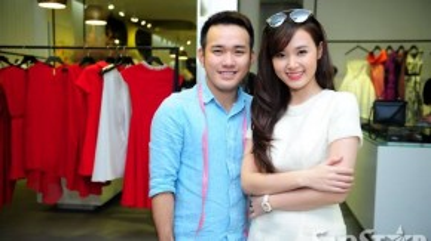 Midu và NTK Lê Thanh Hòa