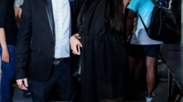 Phi Thanh Vân và chồng.
