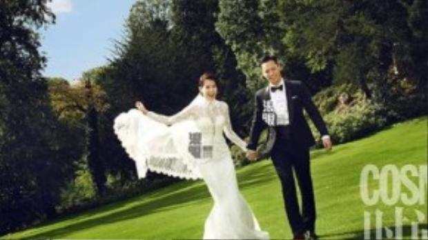 Bộ ảnh cưới của Hồ Hạnh Nhi và Philip Lee tại Bỉ.