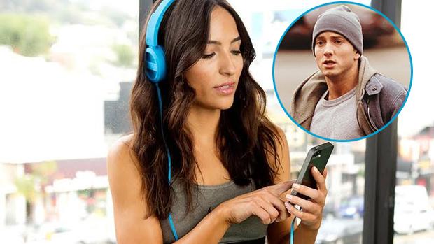 Nghe nhạc Eminem trong lúc tập thể dục giúp bạn giảm cân nhanh nhất