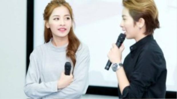 Chi Pu và Gil Lê cùng chia sẻ những kỷ niệm suốt hơn một tháng quay phim Yêu. Chi Pu cho biết, điều làm cô quý nhất là cả ê-kip làm việc chuyên nghiệp và rất yêu thương nhau, lúc nào cũng quan tâm đến diễn viên.
