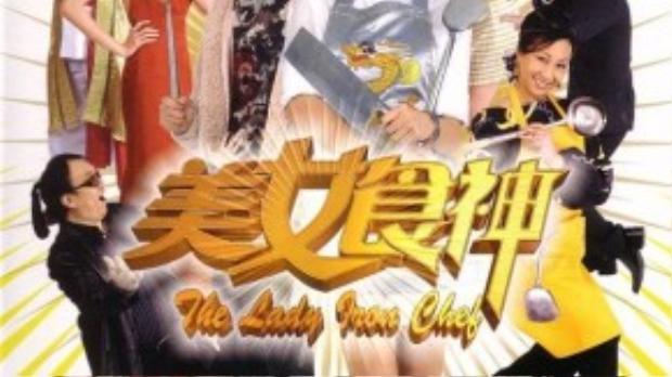 """Xa Thi Mạn diễn hài rất duyên trong """"Mỹ nữ đầu bếp"""" (2007)."""