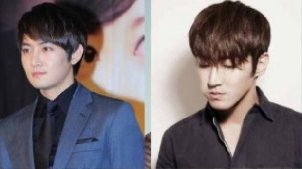 Nam ca sĩ Jay có chiếc mũi và đôi môi mỏng tương tự như thành viên của Super Junior.