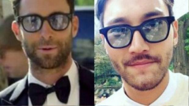Để râu ria trong quá trình đóng She Was Pretty, khi thêm đôi kính và đổi kiểu tóc, Si Won khá giống với nam ca sĩ Adam Levine của nhóm Maroon 5.