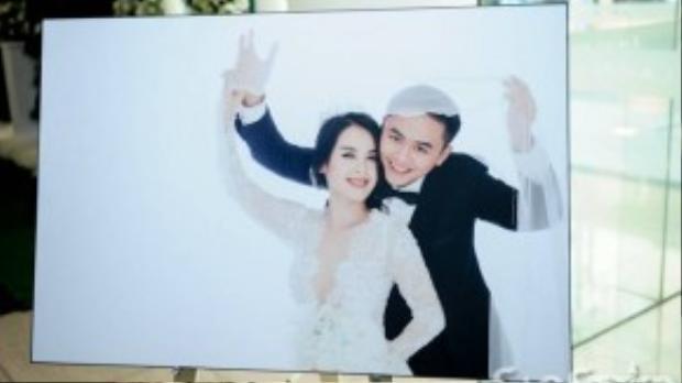 Ảnh cưới từng được Tú Vi chia sẻ vào ngày 7/11.