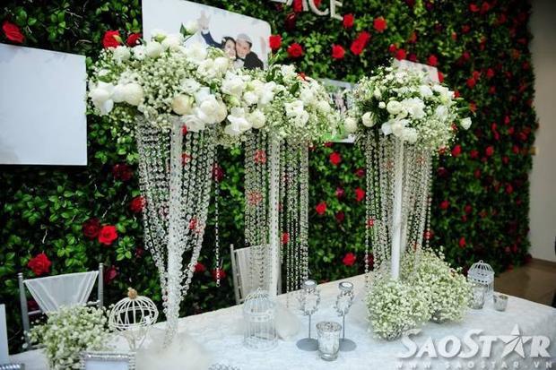 Cận cảnh đám cưới ngôn tình đẹp như mơ của Tú Vi  Văn Anh