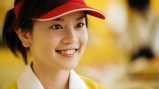 Nét đẹp ngọt ngào của Dụ Hồng Uyên.
