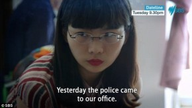 Văn phòng của tổ chức ủng hộ cộng đồng LGBT bị cảnh sát đe dọa.
