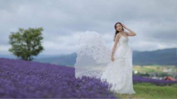 Hôm qua là ngày Trúc Diễm và ông xã John Từ đám cưới được 9 tháng. Hoa hậu Thời trang 2007 chia sẻ bộ ảnh trăng mật của cô với ông xã tại Hokkaido (Nhật Bản) cách đây không lâu. Trong chuyến đi, họ thăm Furano, Otaru và Sapporo.