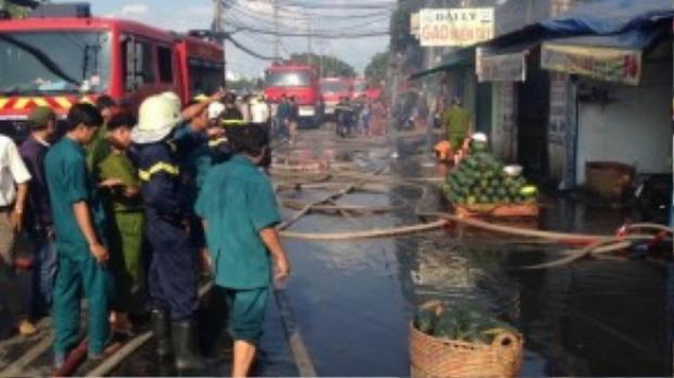 Vụ cháy ngày 10/11 tại Bến Bình Đông đã khiến chị Loan tử vong.