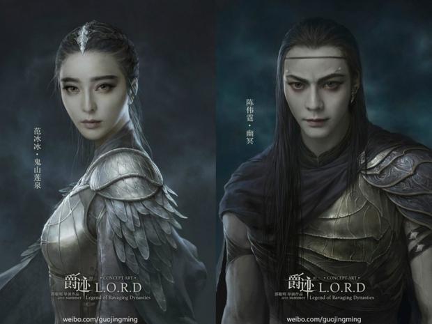 Màn ảnh xứ Trung đang dần bị Tây hóa