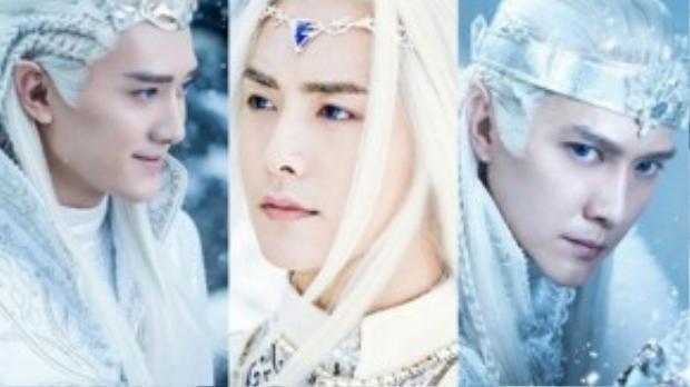 """Mã Thiên Vũ, Phùng Thiệu Phong trông như các """"tiên tộc"""" do Tolkien sáng tạo ra."""