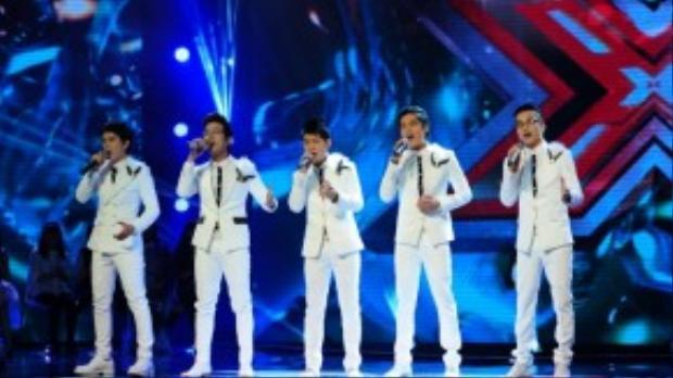 Điều đặc biệt trong cuộc thi X-Factor là các nhóm nhạc có thể được thể hiện tài năng của mình.