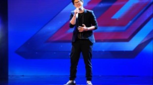 Loki Bảo Long một trong những thí sinh sáng giá nhất của cuộc thi X-Factor mùa thứ nhất.