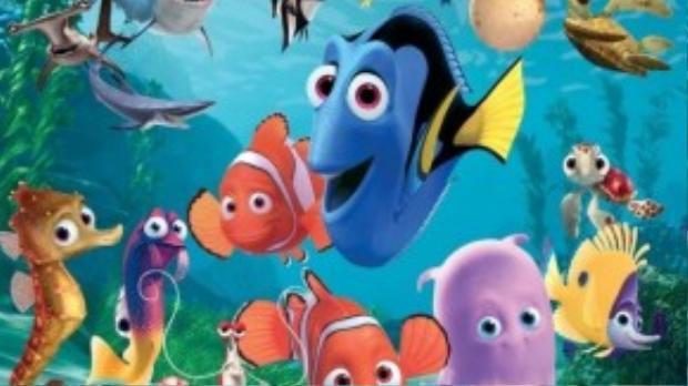 """""""Finding Nemo"""" đã đoạt giải Oscar ở hạng mục Phim hoạt hình xuất sắc nhất năm."""