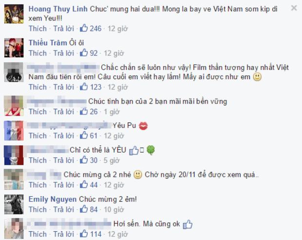 Chi Pu công khai yêu Gil Lê trên Facebook