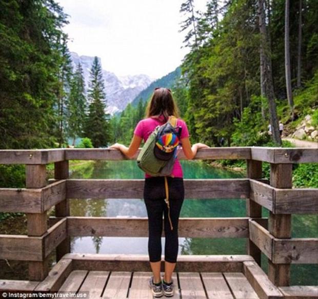 Cuộc sống như mơ của cô gái đi du lịch một mình