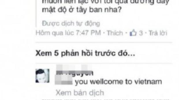 Lời thách thức thành viên khủng bố IS của cư dân mạng Việt qua mạng xã hội.
