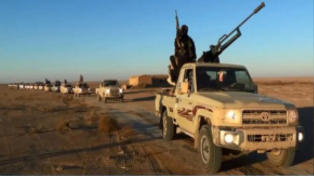 IS không ngừng bánh trướng lãnh thổ ở Trung Đông.