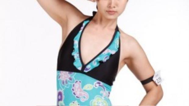 Trước đó, Thảo Trang xuất hiện trong một chương trình tìm kiếm người mẫu với vòng một lép xẹp.