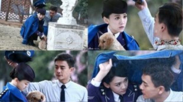 Cặp đôi Huỳnh Tông Trạch - Trần Kiều Ân được yêu thích trong Vẫn cứ thích em.