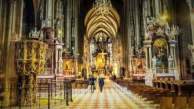 Nhà thờ St.Stephen tại thành phố Vienna, Austria.
