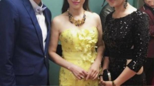 Vợ chồng nhà sản xuất Thành Được - Vân Anh gặp gỡ các diễn viên nổi tiếng TVB