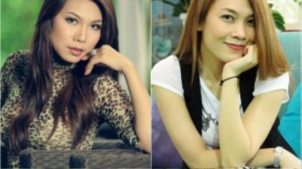 Hai ca sĩ: Khánh Ngọc - Mỹ Tâm.