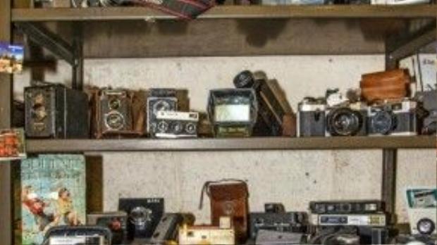 Những chiếc máy ảnh cổ quý hiếm.