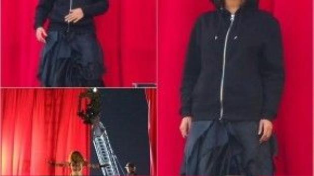 Beyonce quay video hôm 23/1.