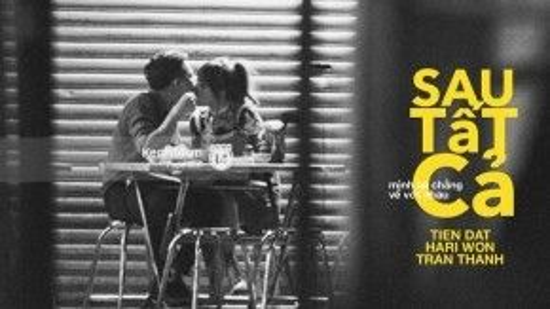Thậm chí, còn có bạn thiết kế ngay hình ảnh như poster phim về chuyện tình 3 người. Nỗi thật vọng của những người ủng hộ cặp đôi Hari Won - Tiến Đạt