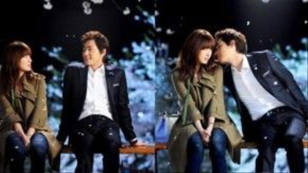 """Hình ảnh Gong Ah Jung (Yoon Eun Hye) ngồi bên cạnh Hyun Ki Joon (Kang Ji Hwan) trong khung cảnh mùa đông đẹp như mơ là một trong những khoảnh khắc ấn tượng khó phai của phim truyền hình """"Lie To Me"""" (Lời nói dối định mệnh)."""
