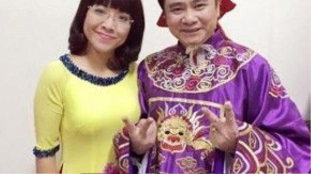 Táo quân 2016 sẽ vẫn có sự góp mặt của MC Thảo Vân và NSND Tự Long sẽ vào vai Táo Tin.