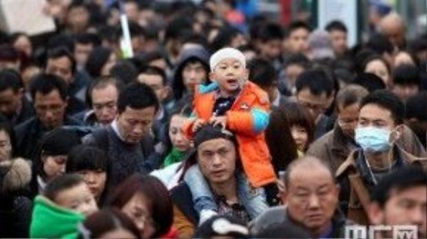 Ngày 24/1, ngành giao thông Trung Quốc chính thức bước vào mùa cao điểm nhất trong năm.